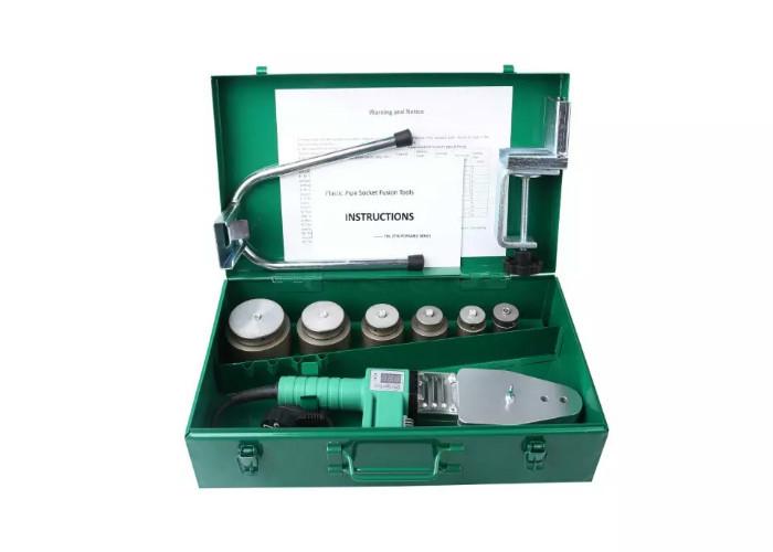 RJQ-63 NEW Pipe Welding Tool Kit w/4 Adapters - Socket Fusion